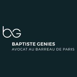 Maître Baptiste GENIES - Avocat à Paris 8